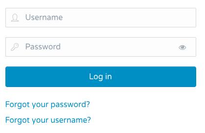 I don't remember my username and/or my password. How do I access them?